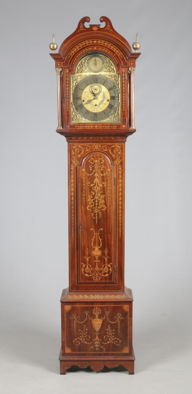 An Edwardian Sheraton revival marquetry