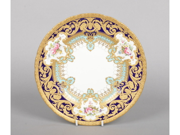 A fine Royal Crown Derby dinner plate fr